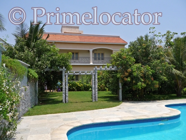 Beach House With Swimming Pool And Garden For Rent In Ecr For Details Ph 9840033173